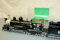 Model D&RG K27 #461 Live Steam Coal Fired
