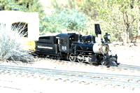 Colorado & Southern #22 Live Steam Butane Fired